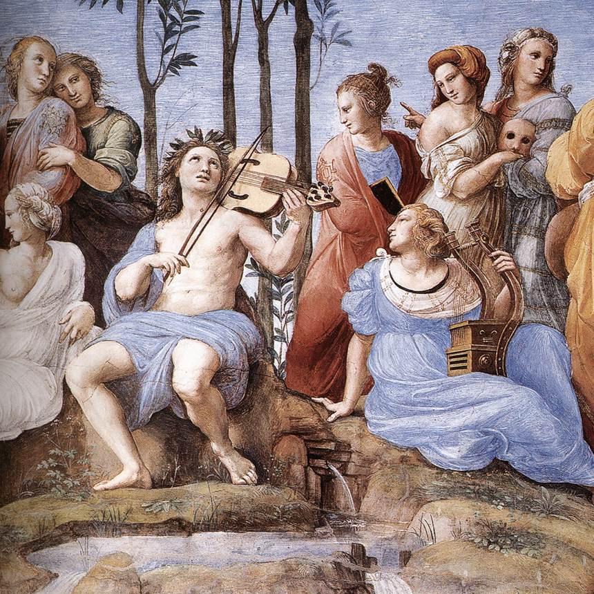 Raphael Sanzio. Parnassa