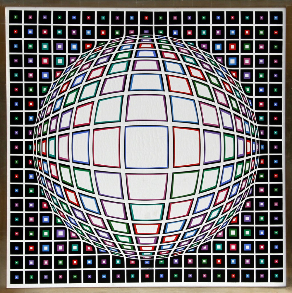 Victor Vasarely. White