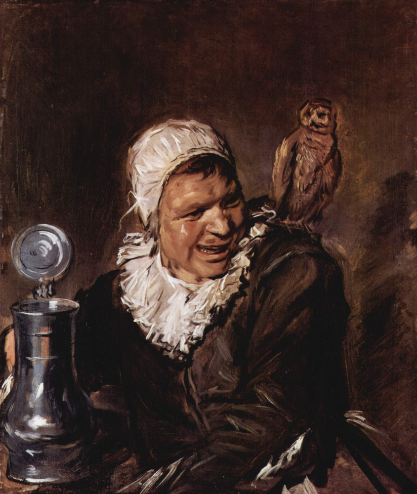 Frans Hals. Malle Babbe