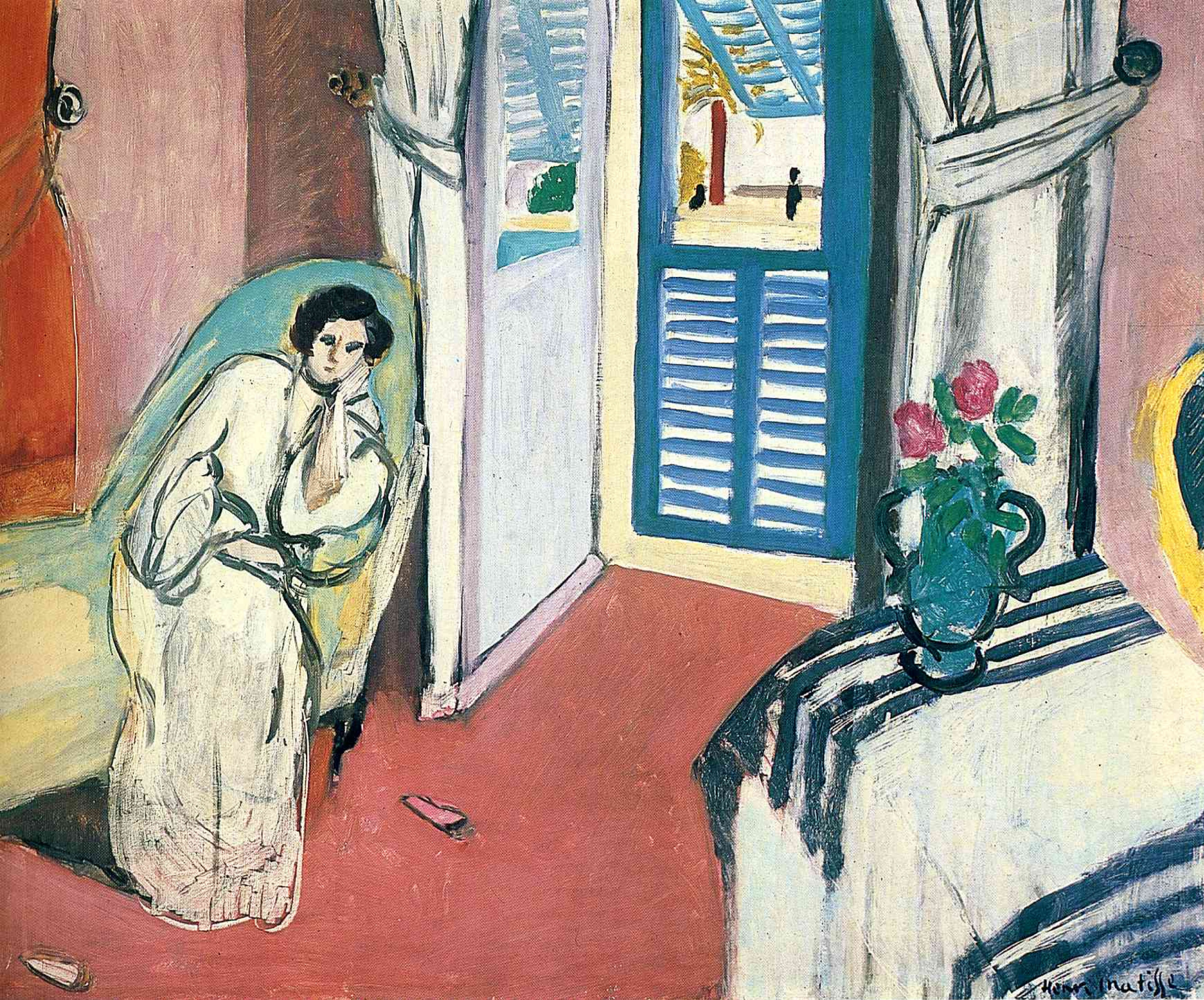 Woman On Sofa By Henri Matisse History