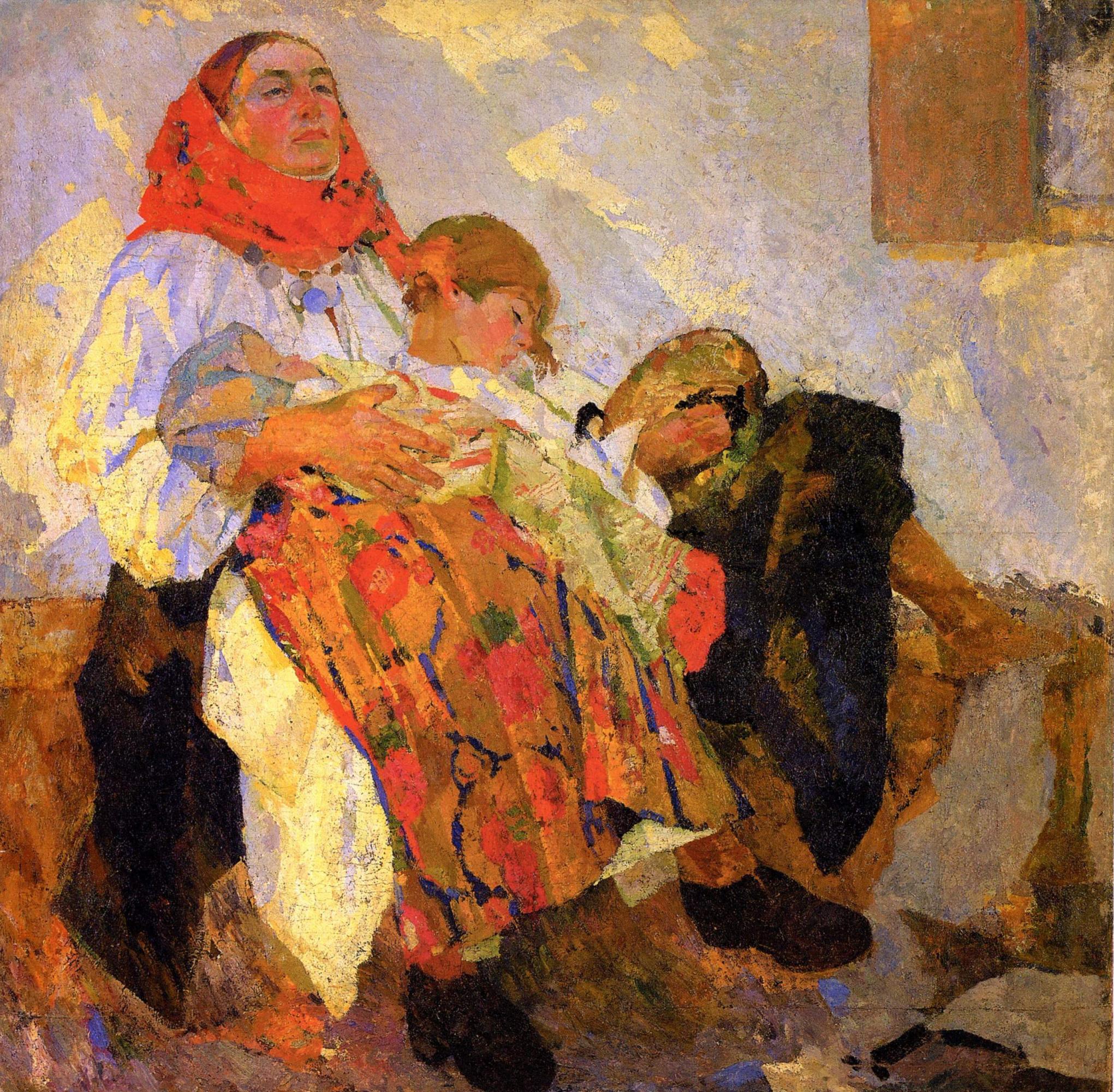 Фёдор Григорьевич Кричевский. Мать