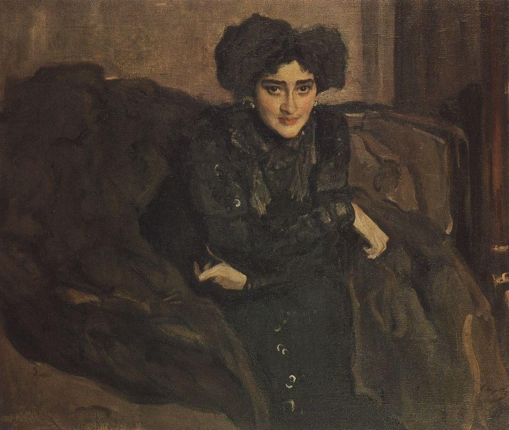 Valentin Aleksandrovich Serov. Portrait Of E. I. Loseva