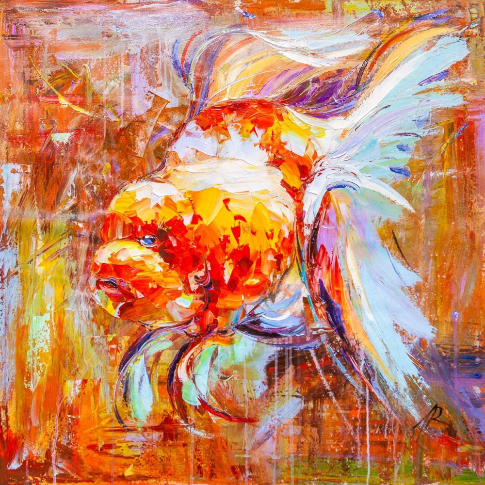 Jose Rodriguez. Goldfish for the fulfillment of desires. N4