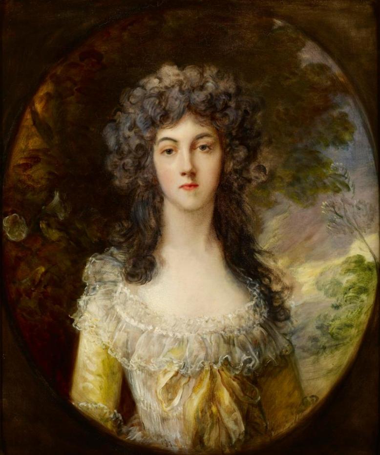 Thomas Gainsborough. Mrs. Charles Hatchett