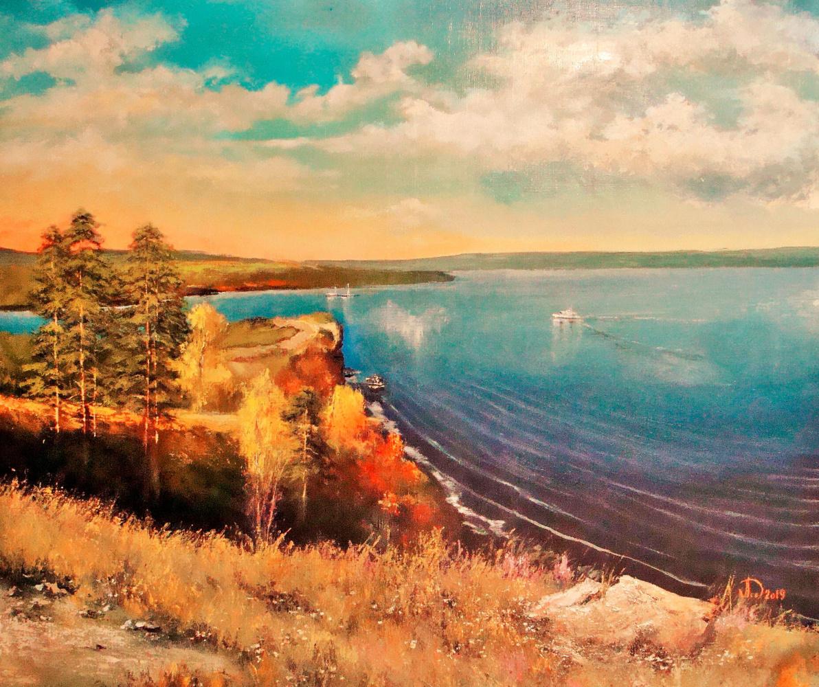 Alexander Alekseevich Lednev. Lada.Molodetsky mound