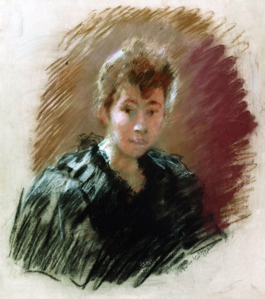 Isaac Levitan. Portrait Of S. P. Kuvshinnikova