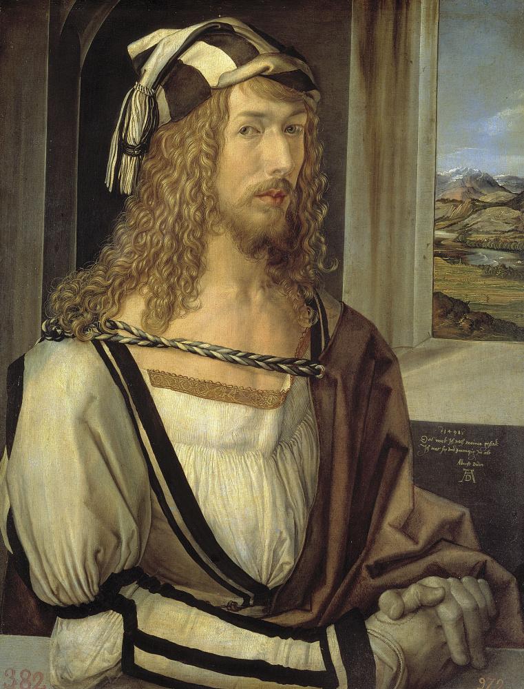 Albrecht Dürer. Self-portrait