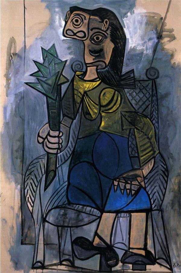 Пабло Пикассо. Женщина с артишоком