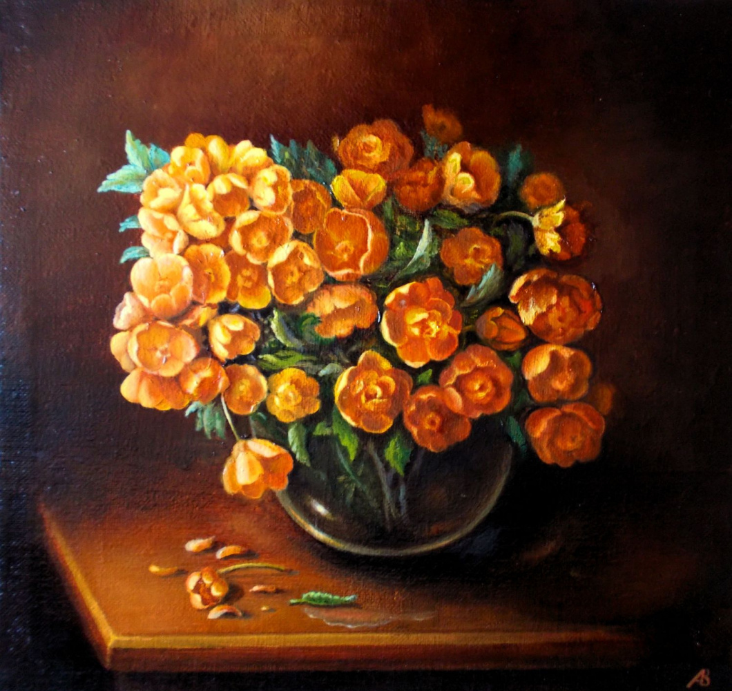 Vladimir Vasilyevich Abaimov. The Spring Bouquet