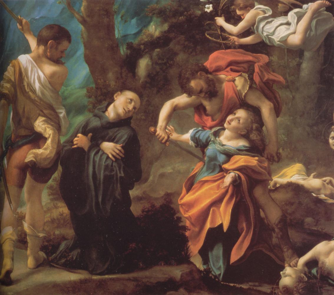 Антонио Корреджо. Мученичество четырех святых