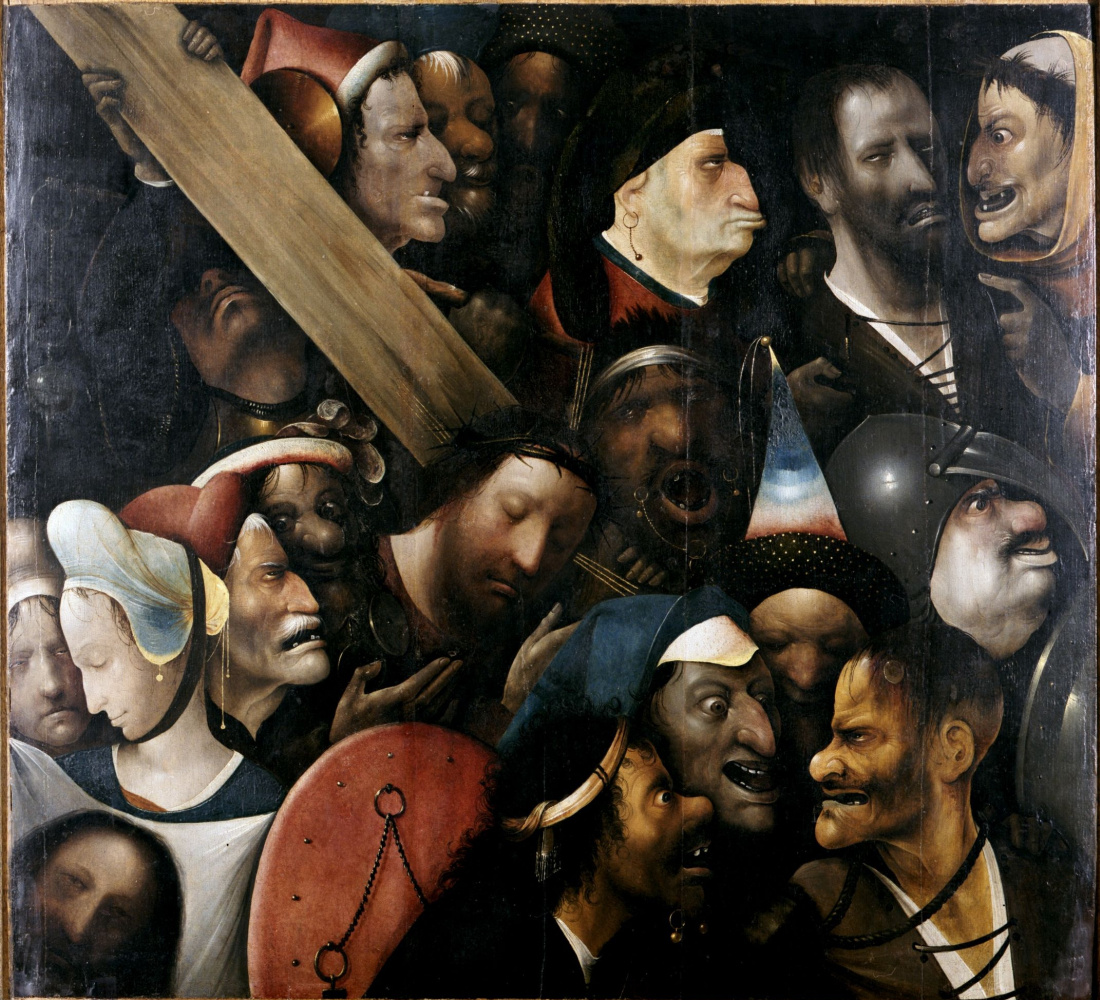 Hieronymus Bosch. Christ Carrying the Cross