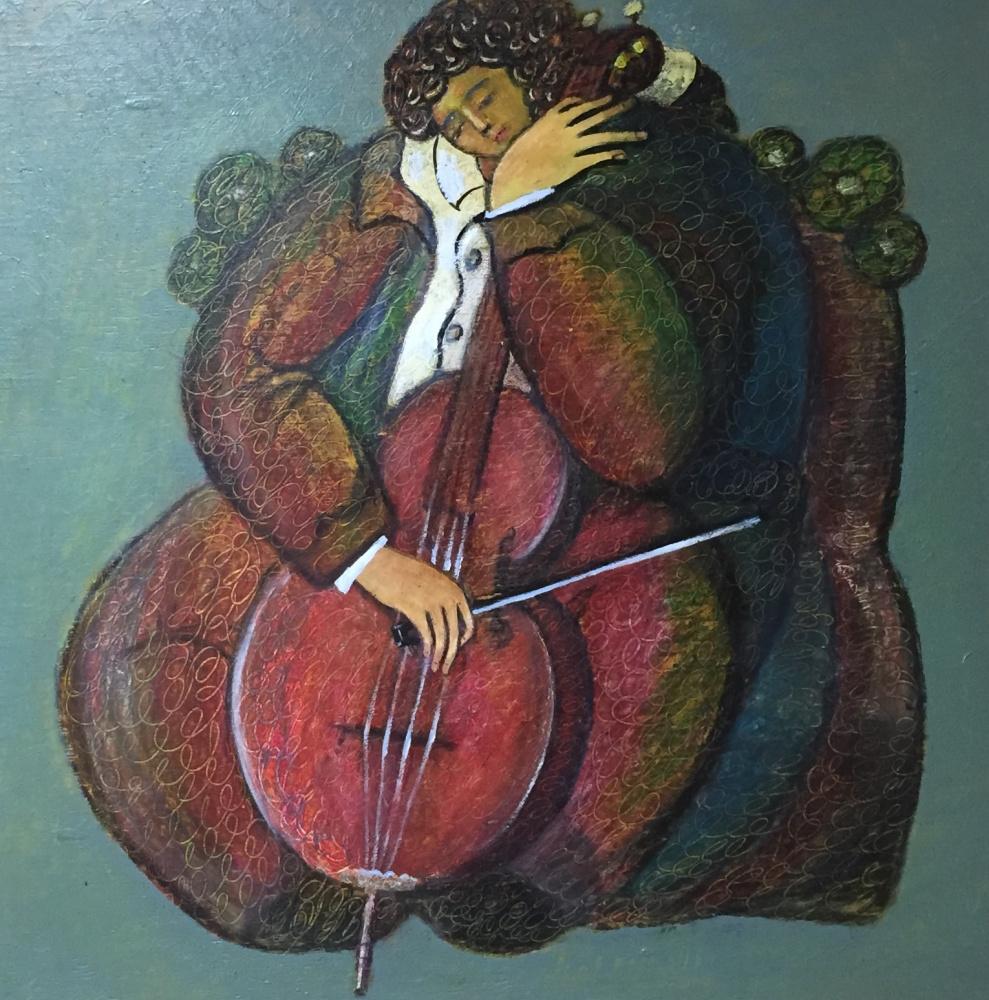 Rostislav Nikolaevich Ivanov. Cellist