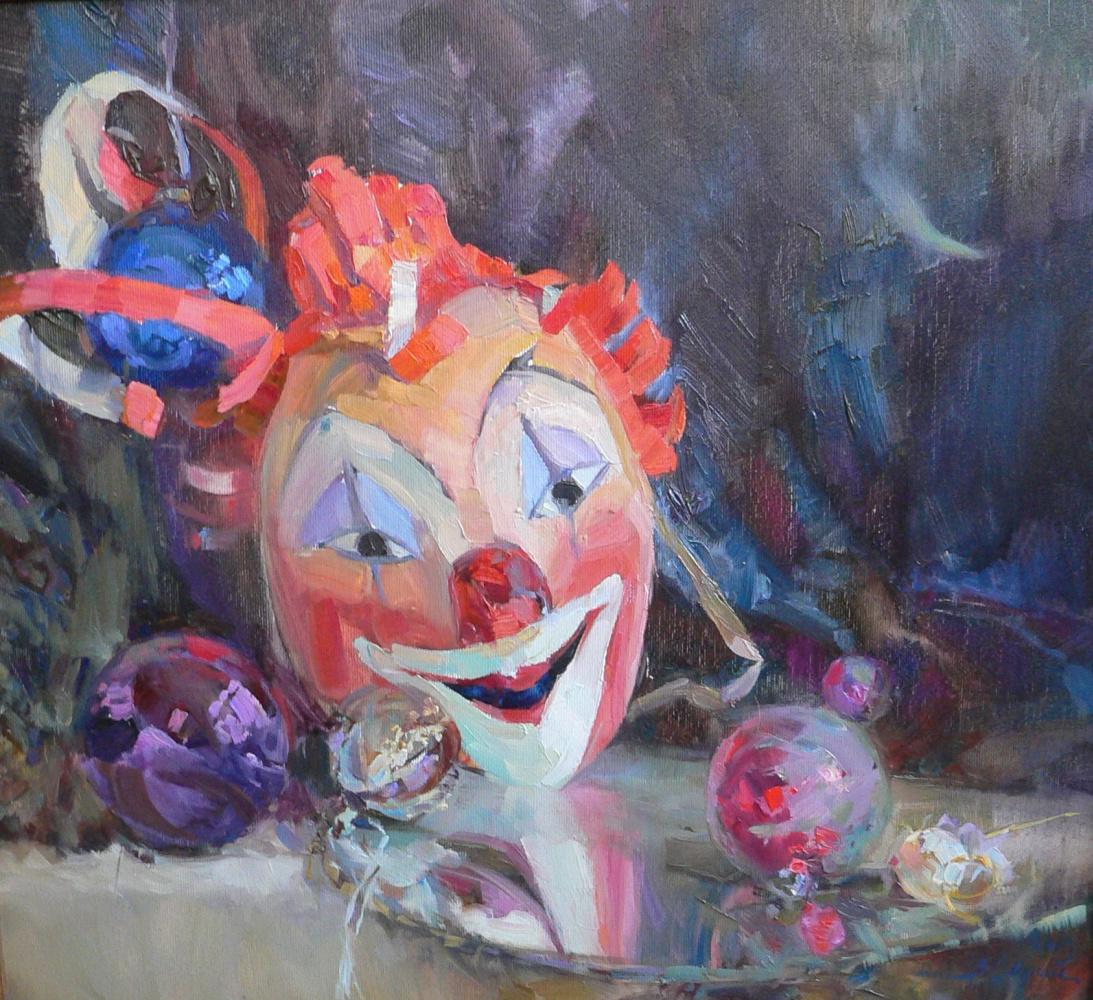 Valentina Ivanovna Safina. Still life with mask