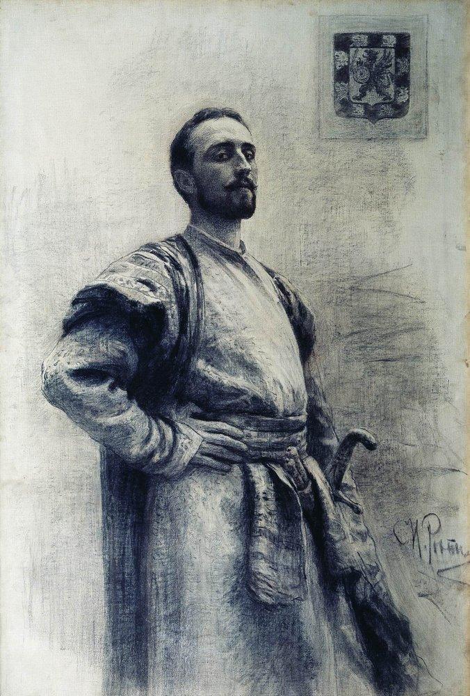 Илья Ефимович Репин. Портрет Романова