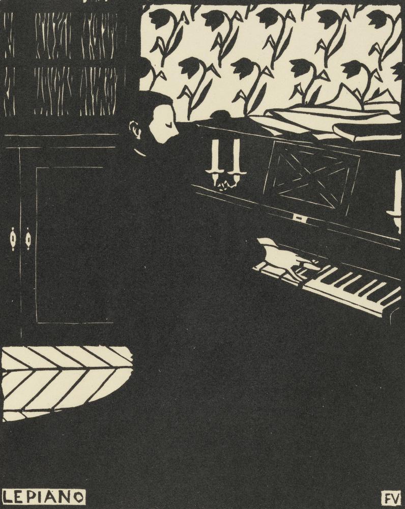 Felix Vallotton. Piano