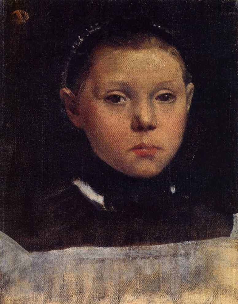 Edgar Degas. Portrait Of Giulia Bellelli