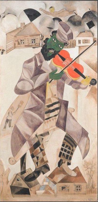 Marc Chagall. Musician