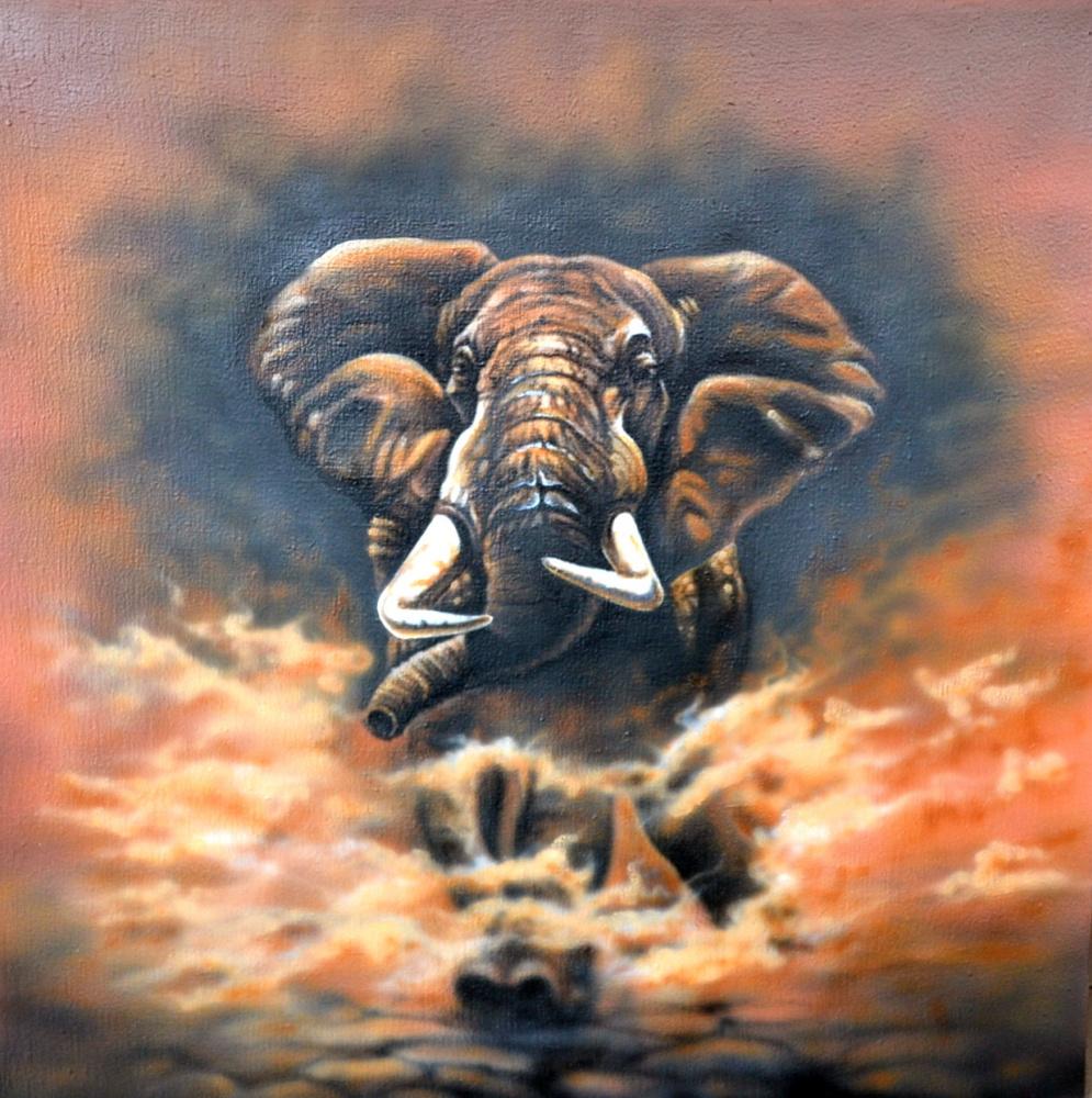 Sergey Nikolayevich Girevoi. Elephant