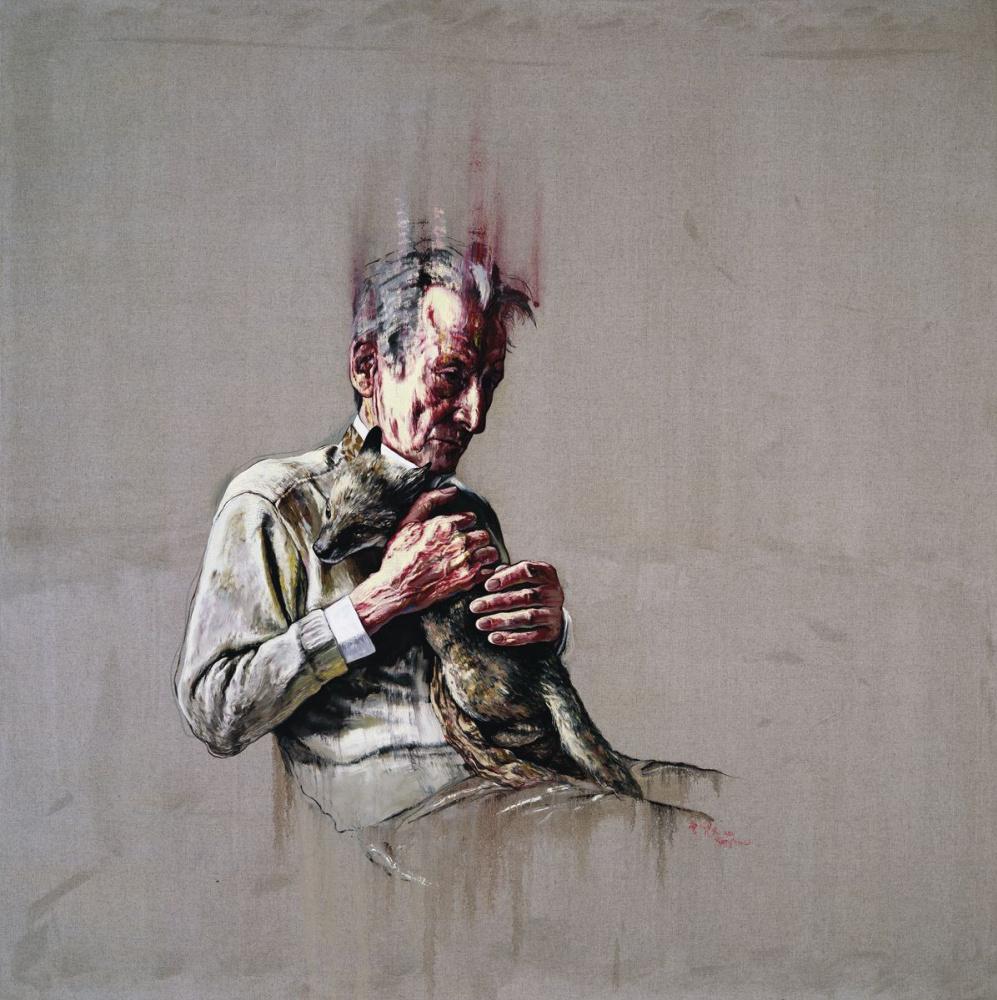 Zeng Fangzhi. Lucian Freud