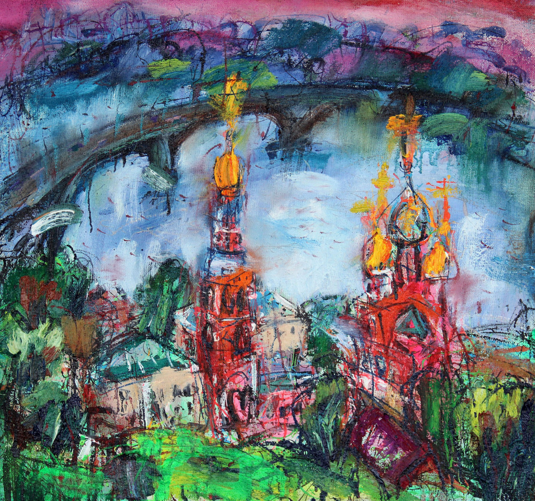 Ilya Pavlovich Spichenkov. Christmas church