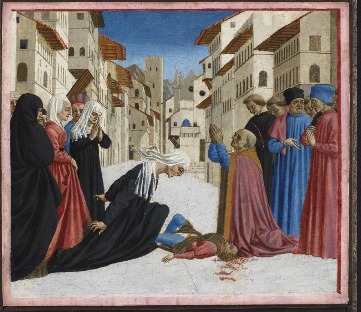 Domenico Veneziano. A Miracle Of Saint Zenobius