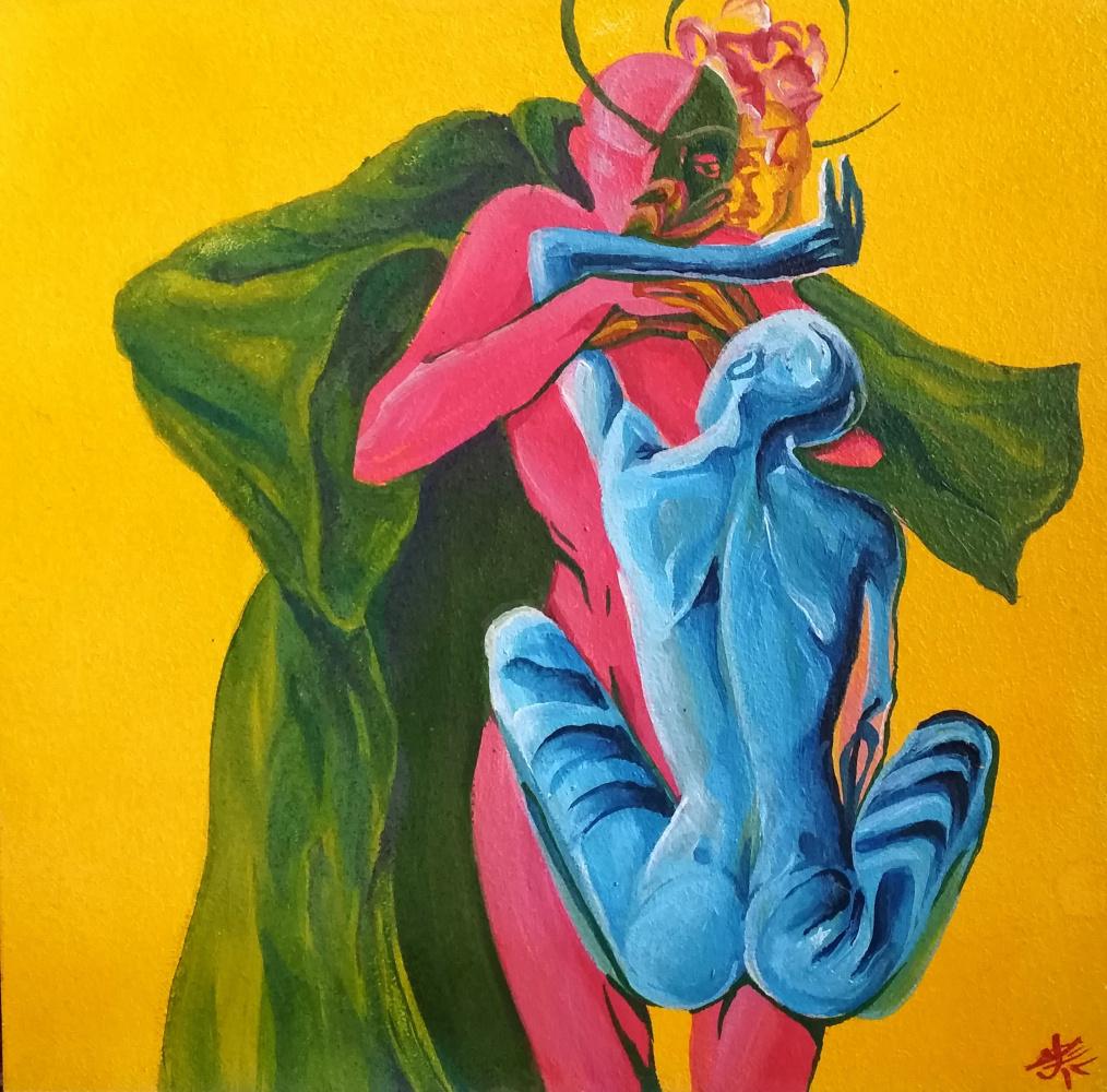 Christina Kovalchuk. Mental exhibitionism during intercourse