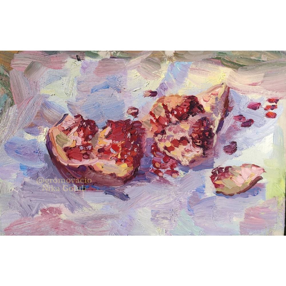 Nika Golub. Pomegranate / Garnet