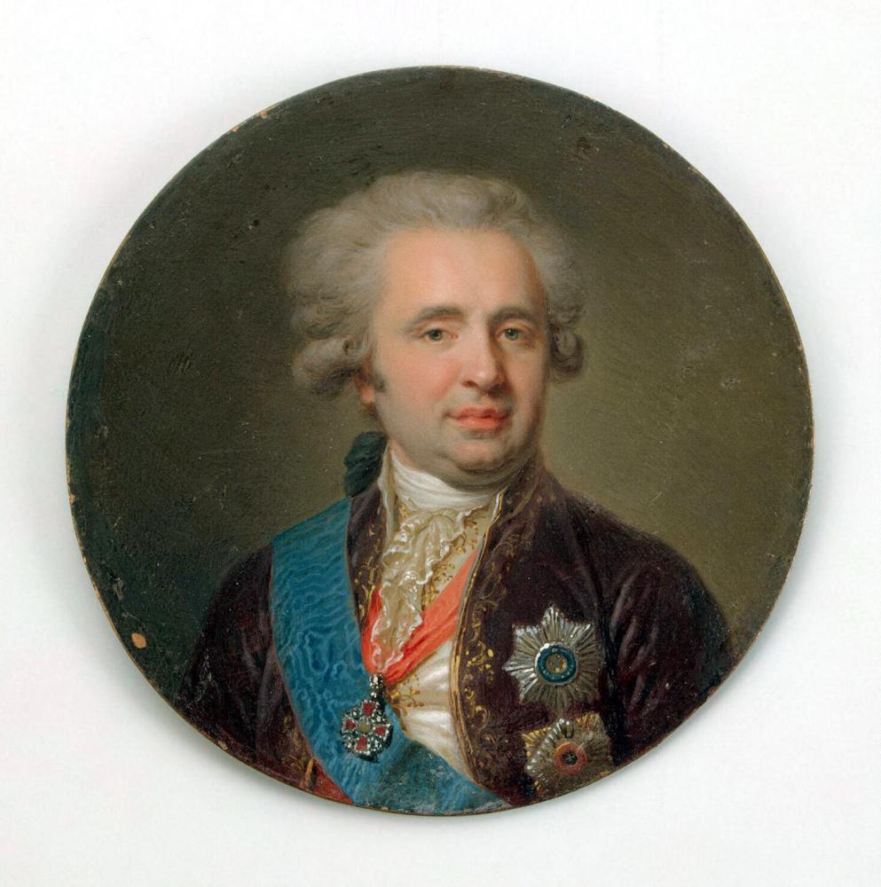 Иоганн Баптист Лампи (старший). Портрет графа Александра Андреевича Безбородко
