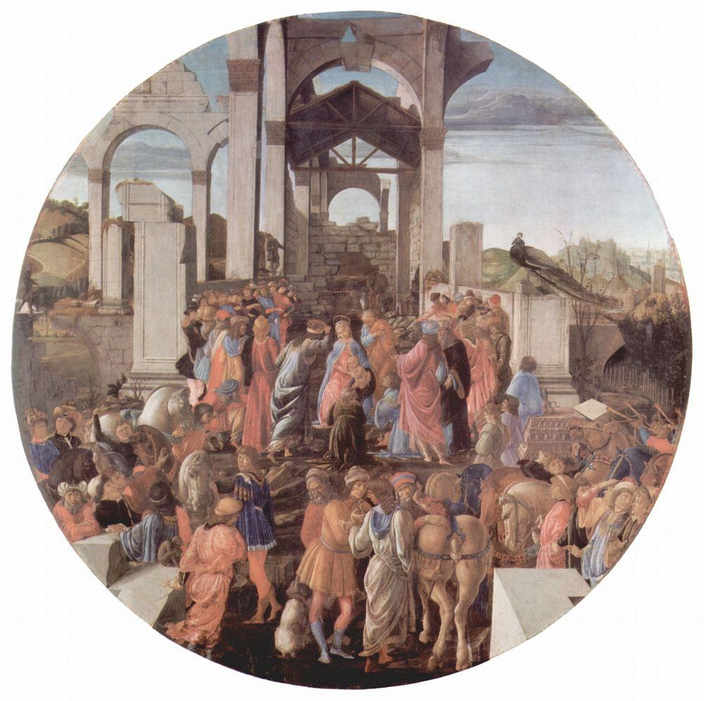 Сандро Боттичелли. Поклонение волхвов