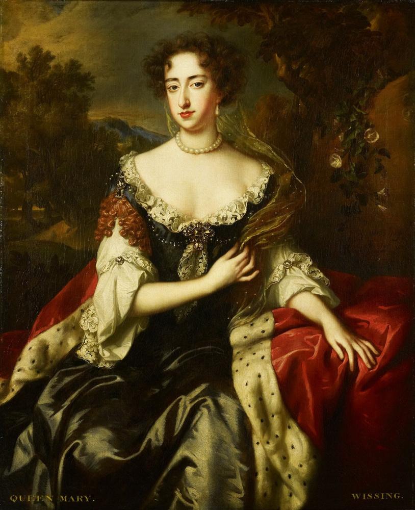 Виллем Виссинг. Портрет принцессы Оранской, (Марии ІІ - королевы Англии и Шотландии с 1698 года)