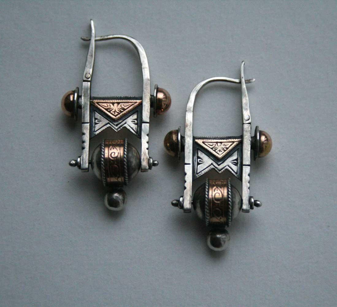 Alexey Nikolaevich Dovgan. Earrings