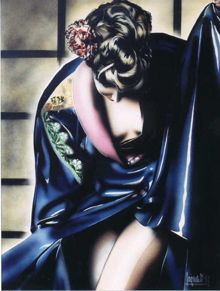 Alan Sagunes. Geisha