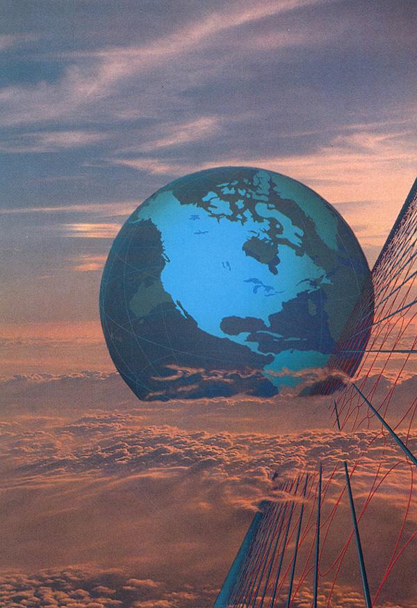 Ким Уайтсайдс. Земной шар