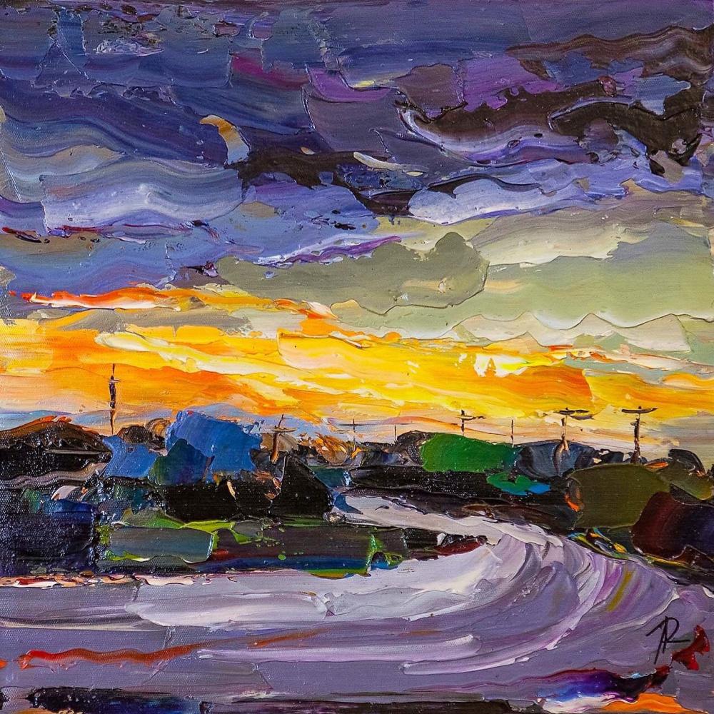 Jose Rodriguez. Mediterranean sunset