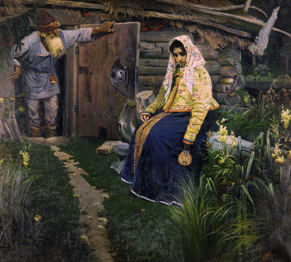 Mikhail Vasilyevich Nesterov. For a love potion