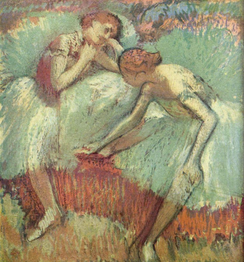 Эдгар Дега. Танцовщица в зелёном