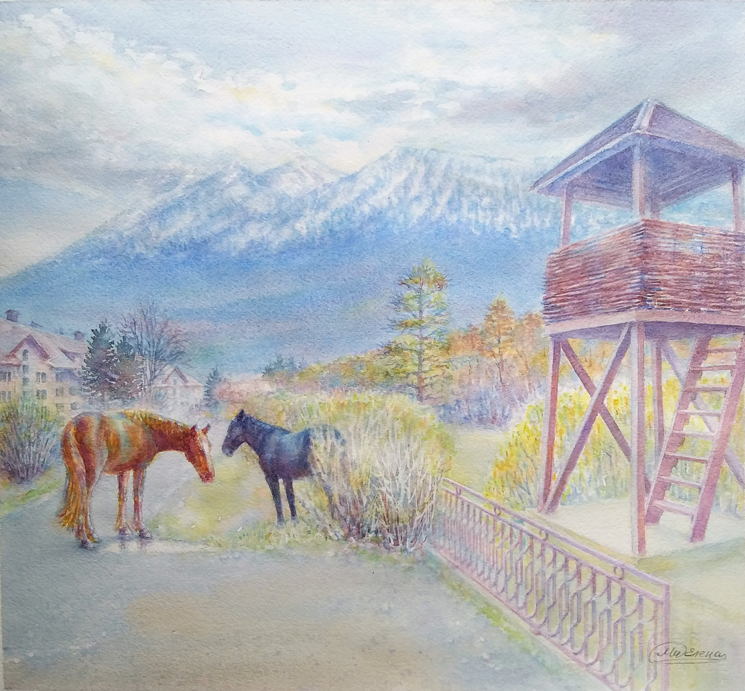 """Mielena. """"View of the Mountains"""""""