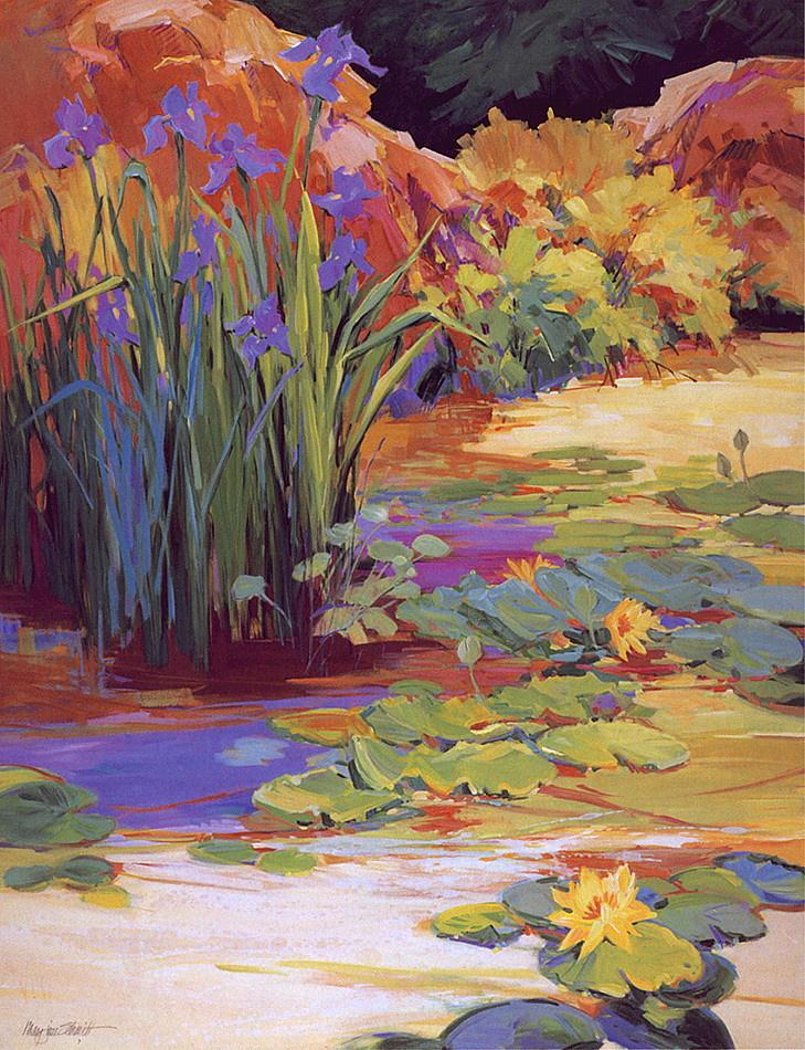 M J Schmidt. Mountain pond
