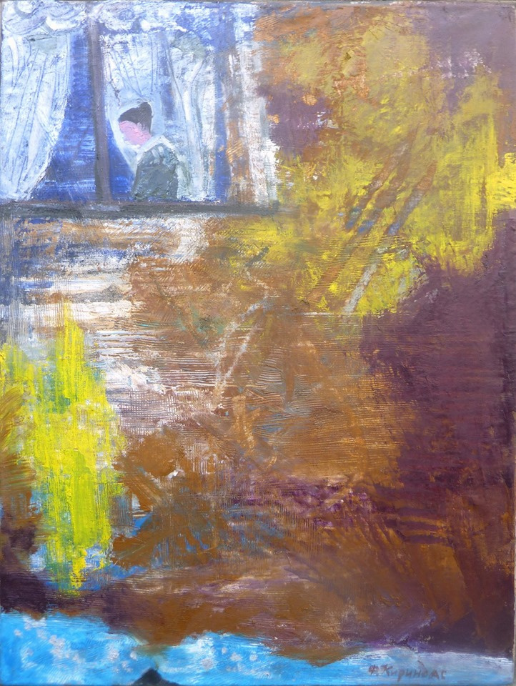 "Филипп Кириндас. LIZAVETA IN THE WINDOW. TO THE ""PEAK LADY"" A.S. PUSHKINA"