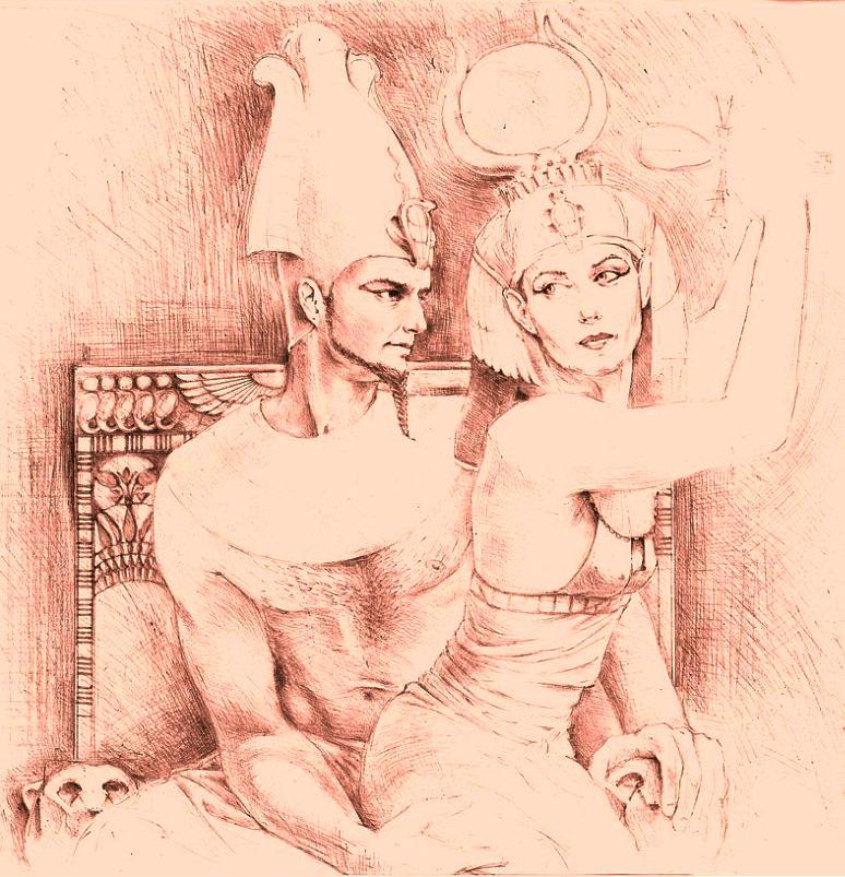 Sofia Sviridova. The myth of Isis and Osiris