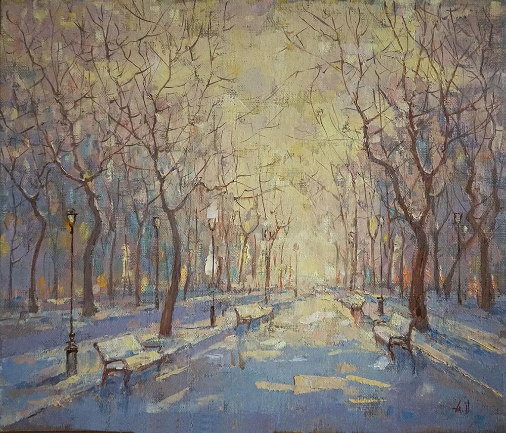 Alexander Panyukov. Winter solstice