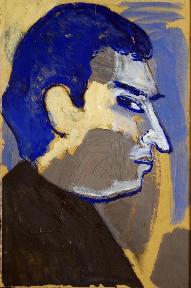Glickman Davidovich Gabriel. Portrait of L.G. Burner