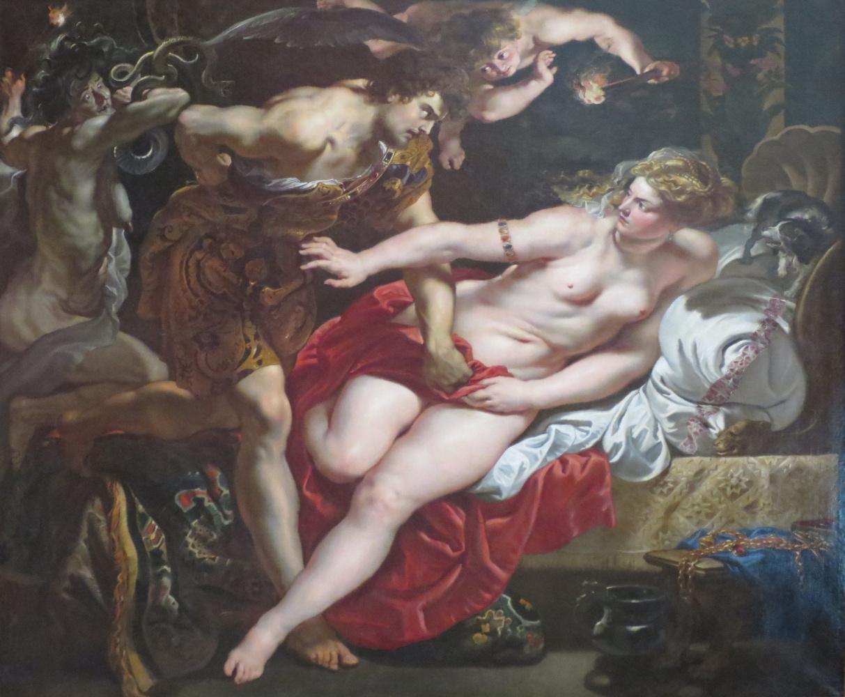 Peter Paul Rubens. Tarquinius and Lucretia