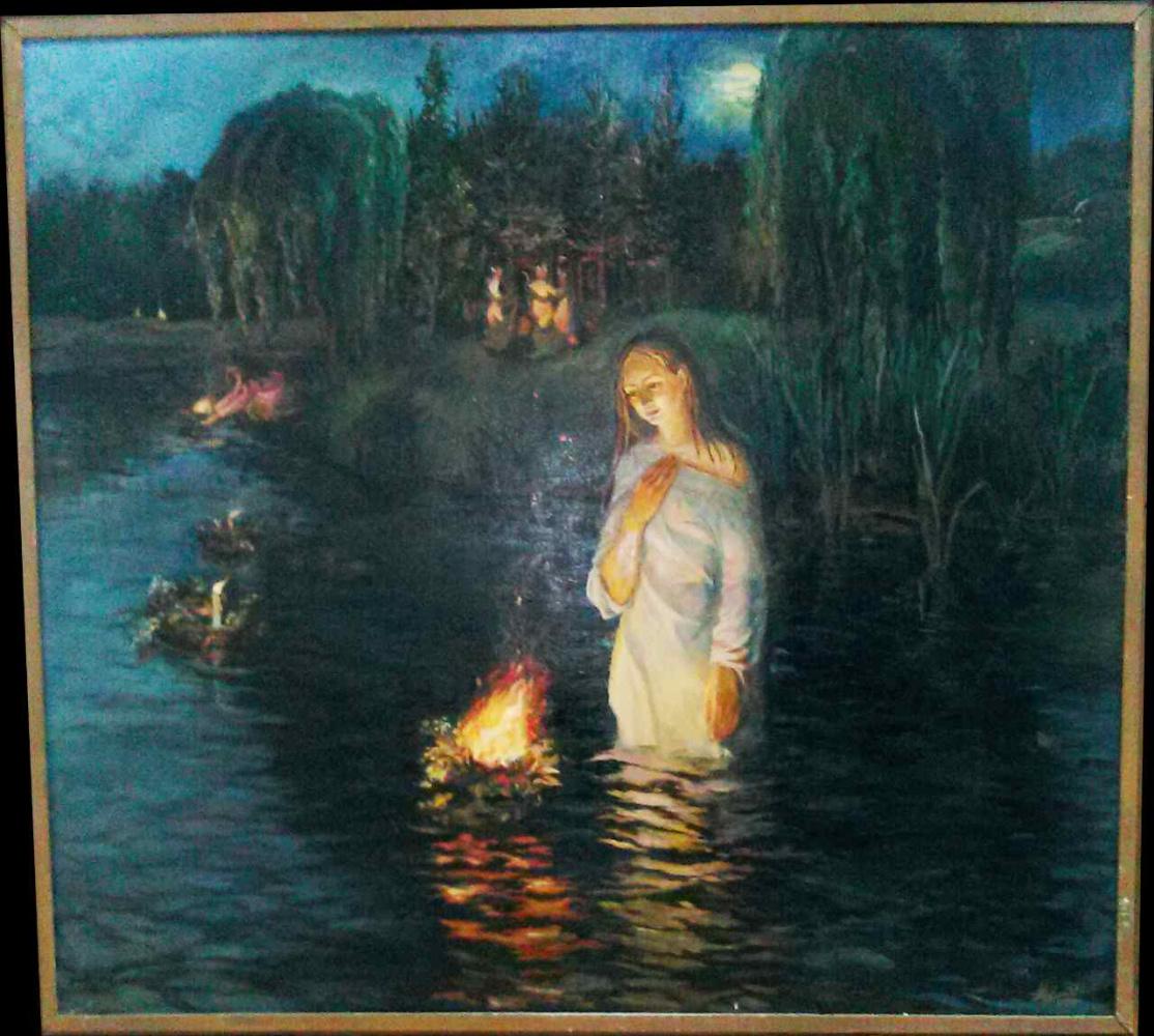 Unknown artist. In the night of Ivan Kupalo