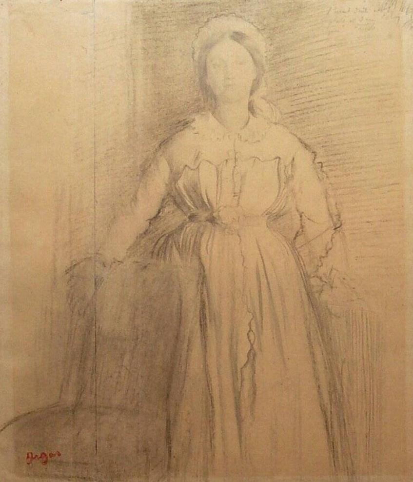 Edgar Degas. Laura-Margaret de GA