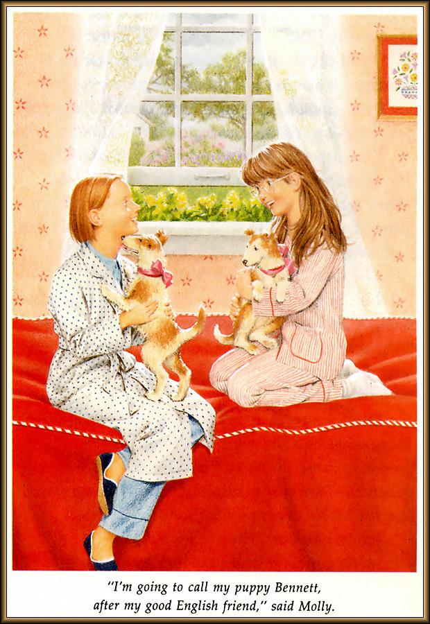 Ник Баскет. Американская девочка Молли. Четвертая книга о Молли 11
