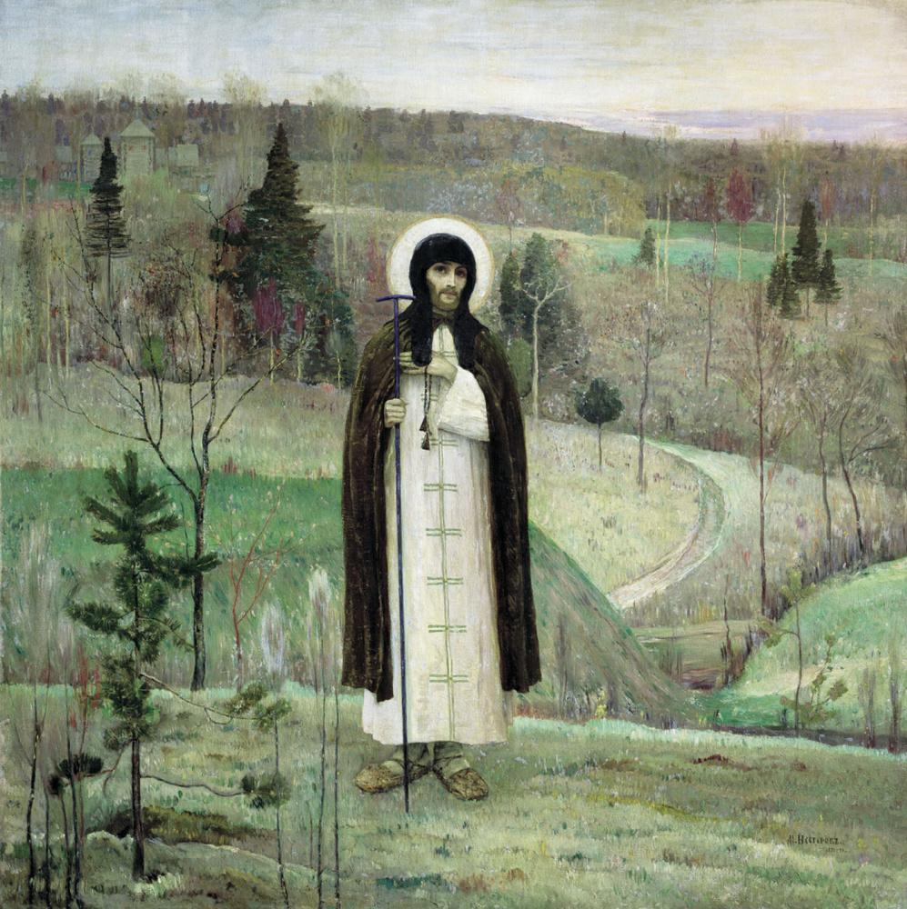 Mikhail Vasilyevich Nesterov. St. Sergius Of Radonezh