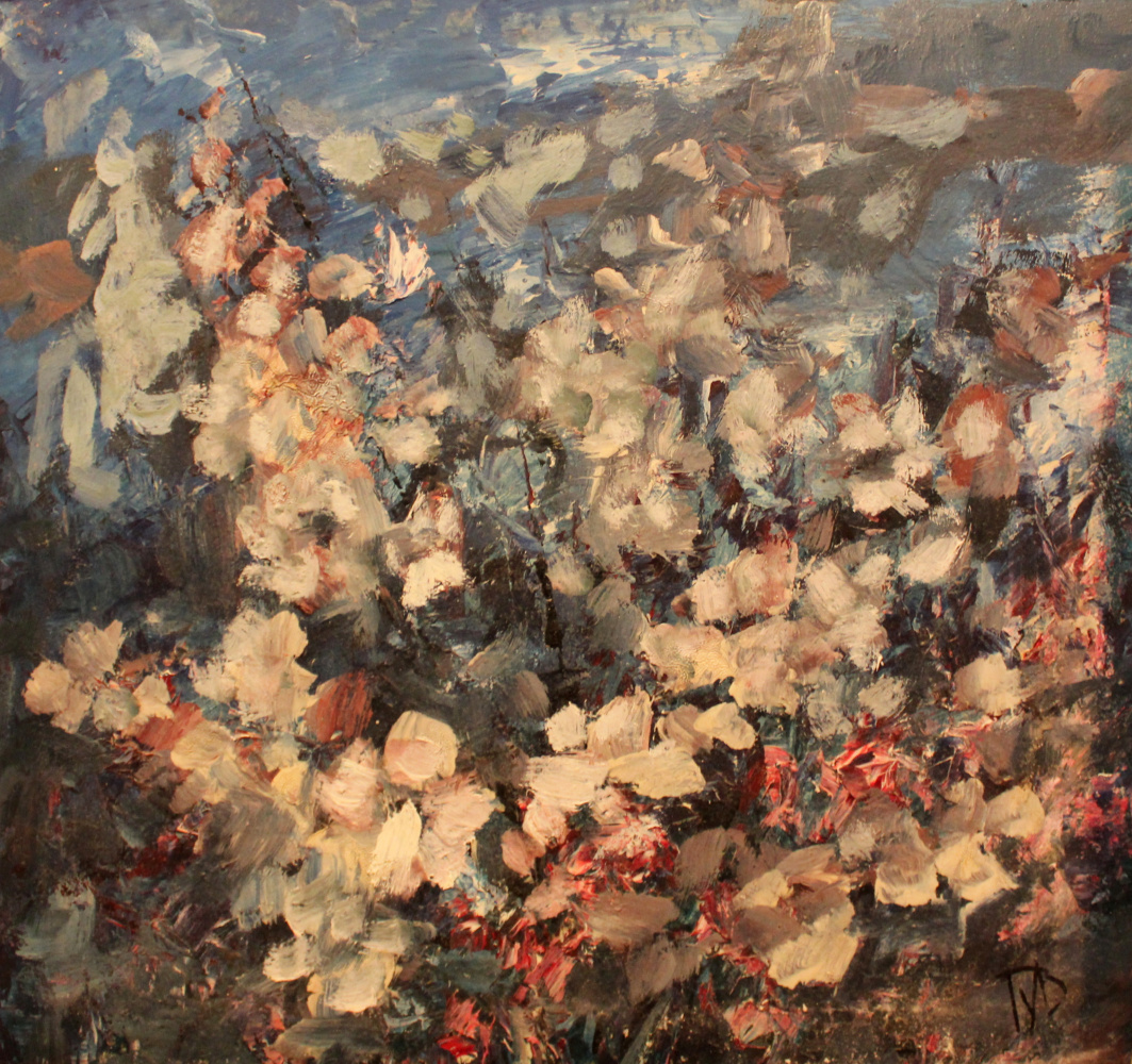 Vladimir Sergeevich Gulyaev. Blooming jasmine