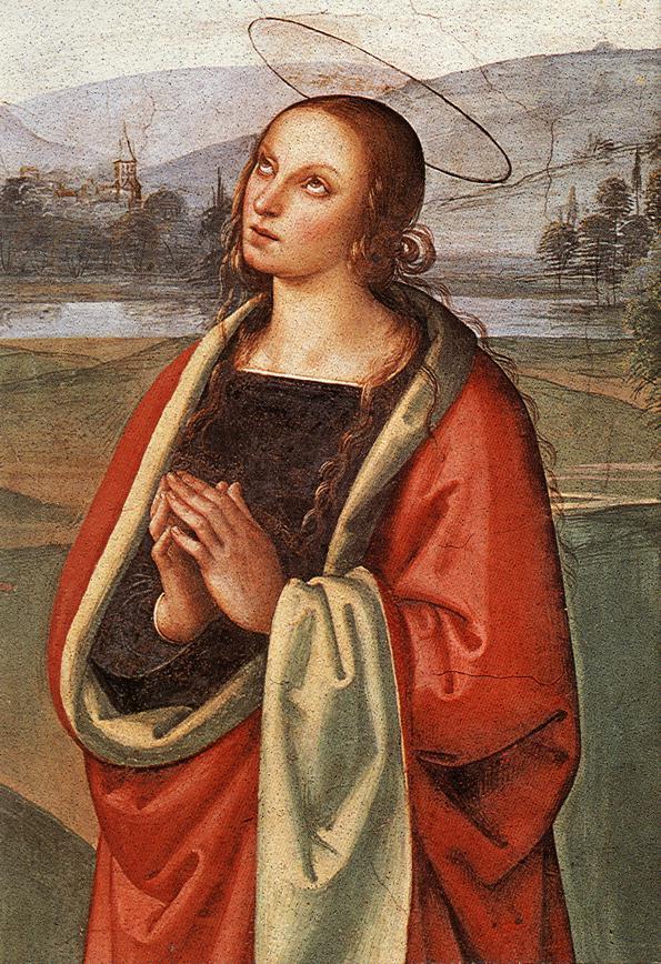 Pietro Perugino. The Pazzi Crucifixion