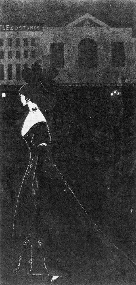 Aubrey Beardsley. A piece of the night